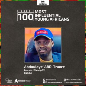 Abd Traore 100 Most Influential Young Africans 2020