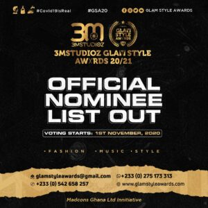 Glam style awards nominees