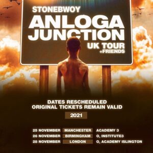 Stonebwoy UK Tour