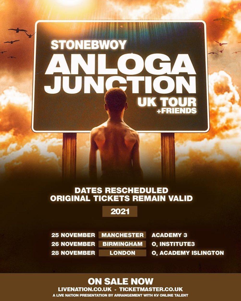 Stonebwoy UK Tour